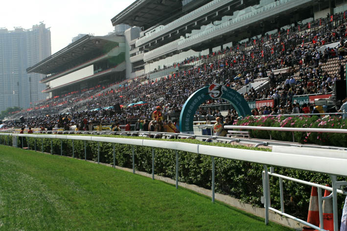 Sha Tin winners circle